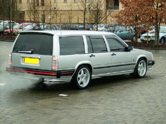 Volvo 740 Turbo Intercooler Body Kit Anyone Remember